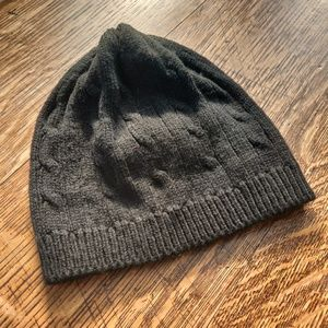 GAP Black Knit Beanie Winter Hat Small